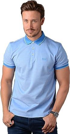 BOSS Hugo Negro Hombre Prout 01 Polo, Azul Marino Azul Corte ...