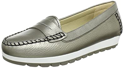 Geox Women's D Senda S Leather Moccasins