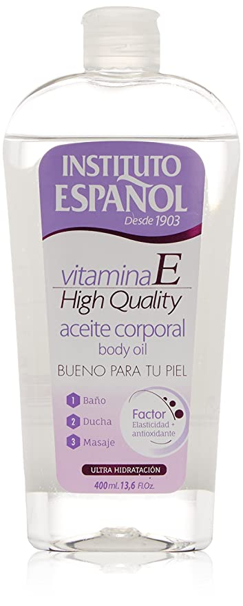 Instituto Español Vitamina E Aceite Corporal - 400 ml