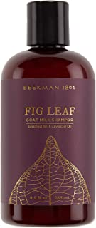 product image for Beekman 1802 - Shampoo - Fig Leaf - Color-Safe Goat Milk Shampoo - Naturally Moisturizing Sulfate-Free Shampoo for All Hair Types & Textured Hair - Goat Milk Hair Care - 8.9 oz