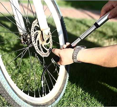 Mini Pompe à Vélo Portable Air Pump Pompe portative bicyclette Sport Randonnée