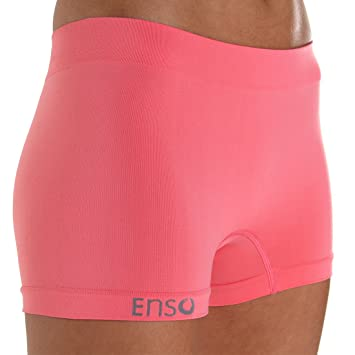 8fba7e0bb17c Enso Women's premium incontinence fixation underwear (Medium, Coral):  Amazon.co.uk: Health & Personal Care