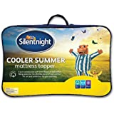 Silentnight Cooler Summer Mattress Topper, King