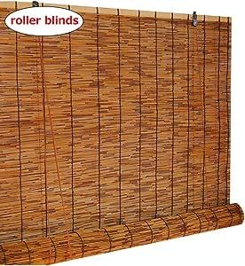 SHXF Persiana Enrollable bambú Natural Estores de bambú ...