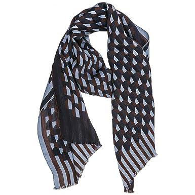 negozio di sconto prezzi al dettaglio dove acquistare Emporio Armani sciarpa uomo coffee brown: Amazon.it: Abbigliamento