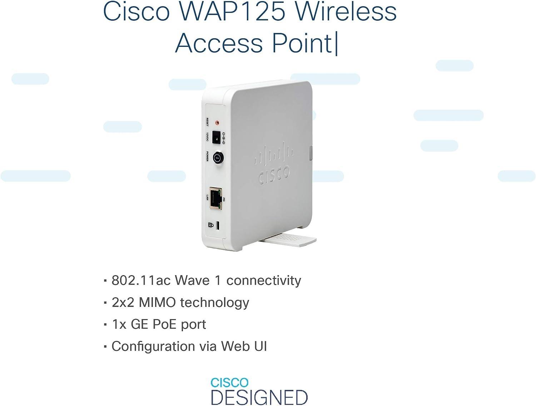 Cisco Systems Wap125 Wireless Ac Dual Band Computer Zubehör