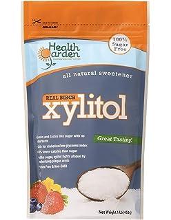 Health Garden Birch Xylitol Sugar Free Sweetener, All Natural Non GMO, Not