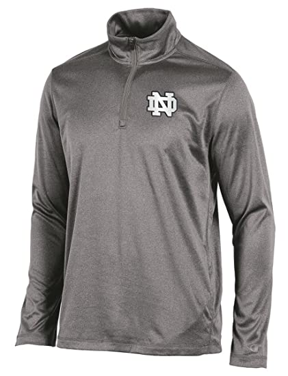 54d02891 Amazon.com : Knights Apparel Notre Dame Fighting Irish NCAA Champion  Compete Men's 1/4 Zip Pullover Shirt : Sports & Outdoors