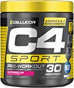 C4 Sport Pre Workout Powder Watermelon - NSF Certified for Sport