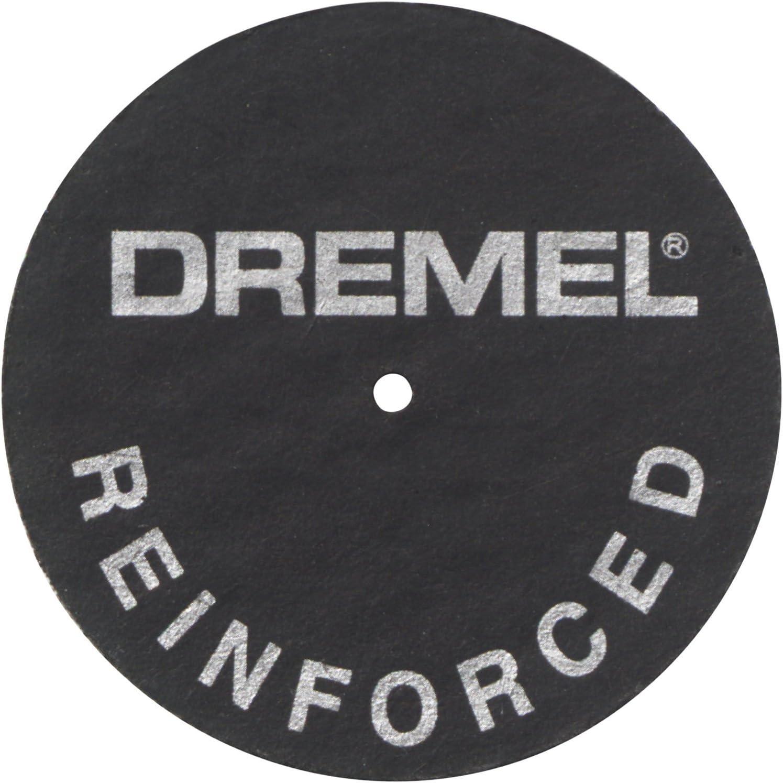 Dremel Thick Heavy-Duty Cut-Off Wheels for Metal,Wood,Plastic,Ceramics 20-Pack