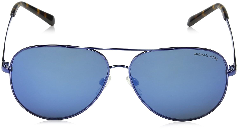 b90a49642df8 MICHAEL KORS 5016 KENDALL 117355 60 Rectangular Sunglasses 60, Navy/Navymirror:  Amazon.co.uk: Clothing