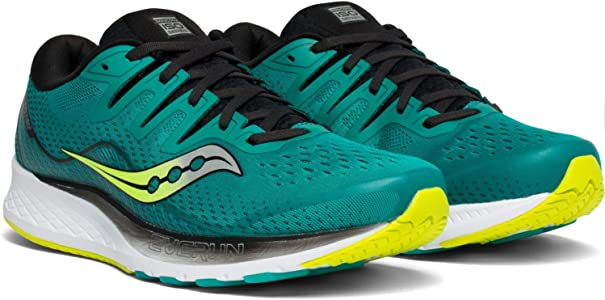 Saucony Ride ISO 2, Zapatillas de Running para Hombre, Verde Verde 37, 43 EU: Amazon.es: Zapatos y complementos