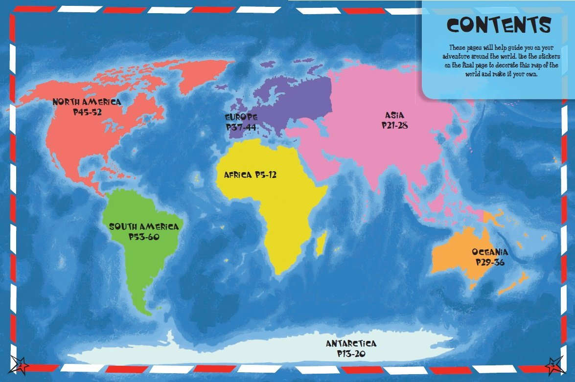 Adventures Around The Globe Packed Full Of Maps Activities And - Globe map for kids