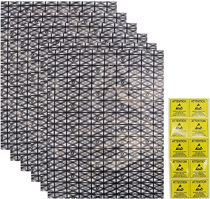 20 sachets antistatiques thermosoudables 305//406mm 76/µm C18694 Aerzetix