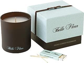 product image for Belle Fleur Scented Candle-Orange Blossom Pomegranate-7.5 oz.