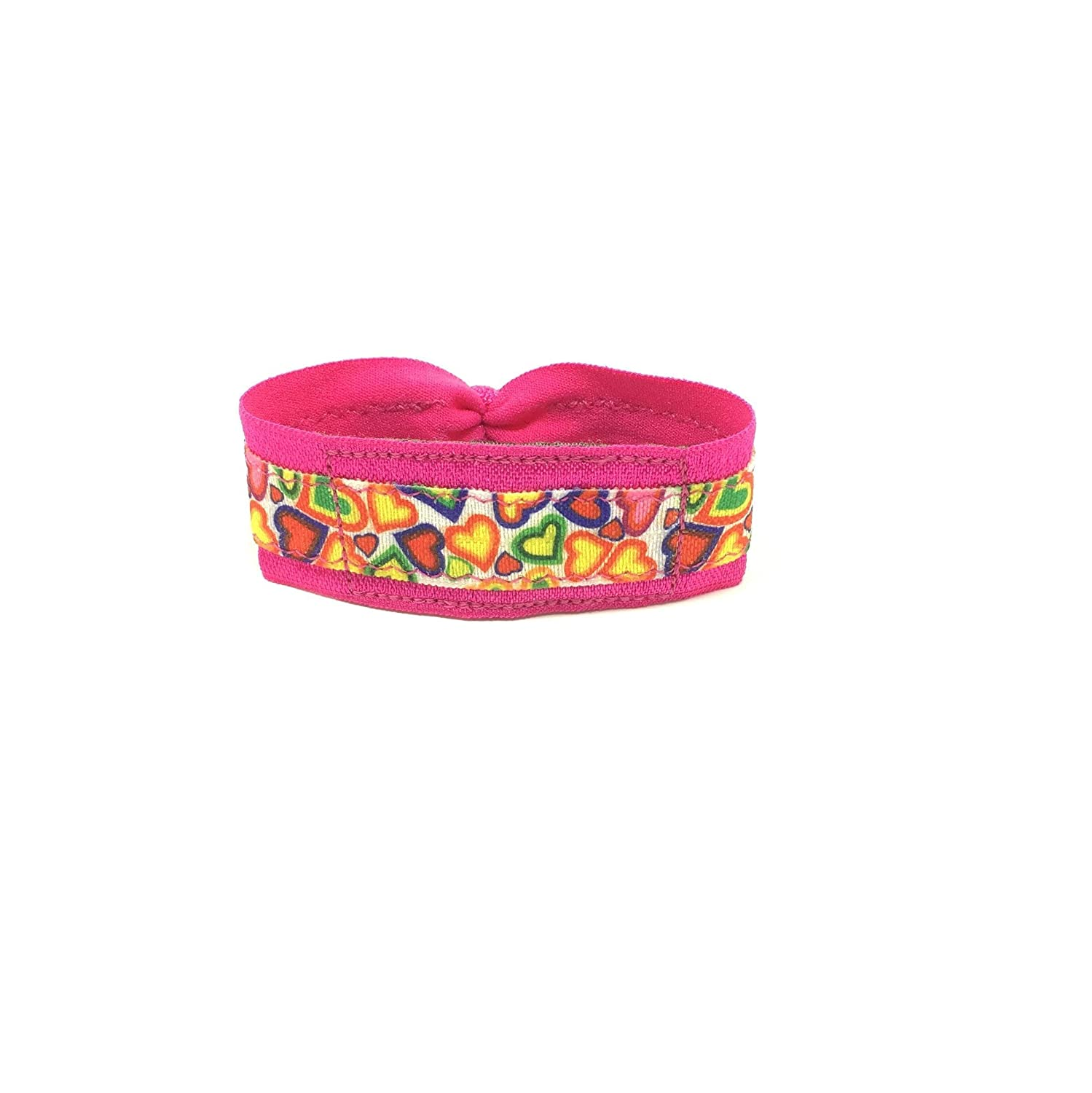 Hearts Hot Pink Wrist or Ankle Band for Fitbit Flex / Flex 2 / Alta