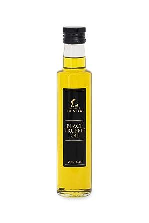 Trufflehunter - Aceite de Trufa Negra doble concentrado (250ml) Aceite trufado Trufa negra italiana Tuber Aestivum Vegano Vegetariano Kosher Sin ...