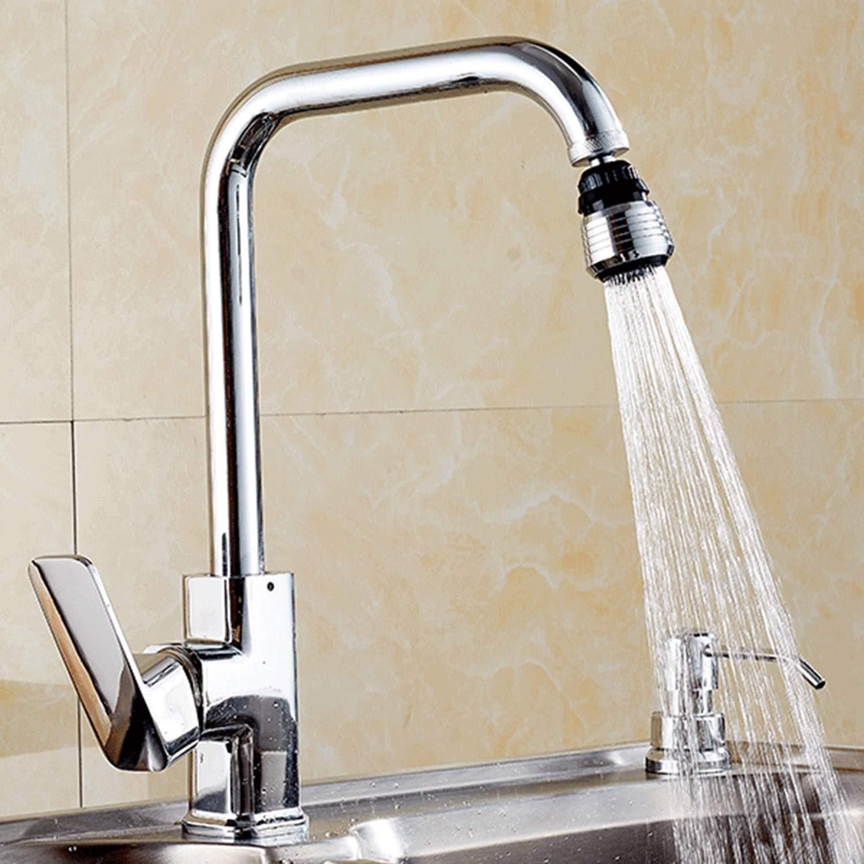 Onisjun New Home Kitchen Badezimmer N/ützliche Wasserhahn Bubbler Saving Water Spill 360 /° Wasserauslauf Filter Wasserh/ähne mit Hebel