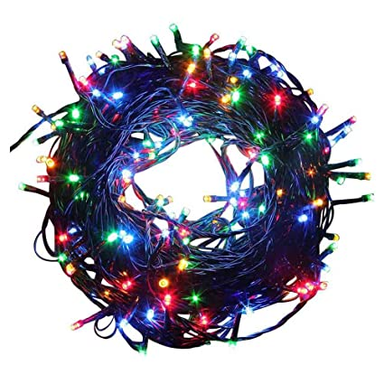 led strip lights christmas lights aua battery operated string lights outdoor string lights 66ft 200leds - Battery Christmas Lights Amazon