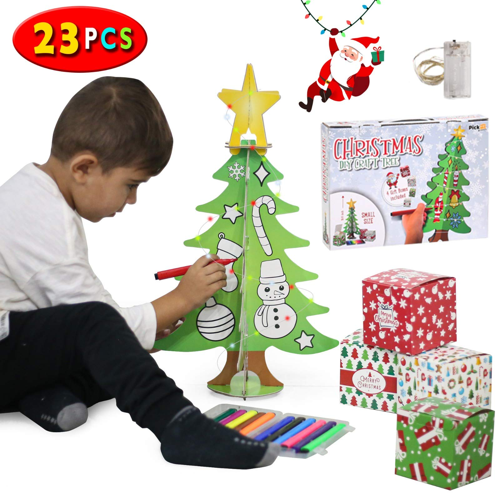 Christmas tree craft set