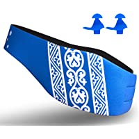 Lightening Swimming Headband Bandas Protectoras de oídos - to Ayudar Las Orejas de los Nadadores para niños, Adultos…