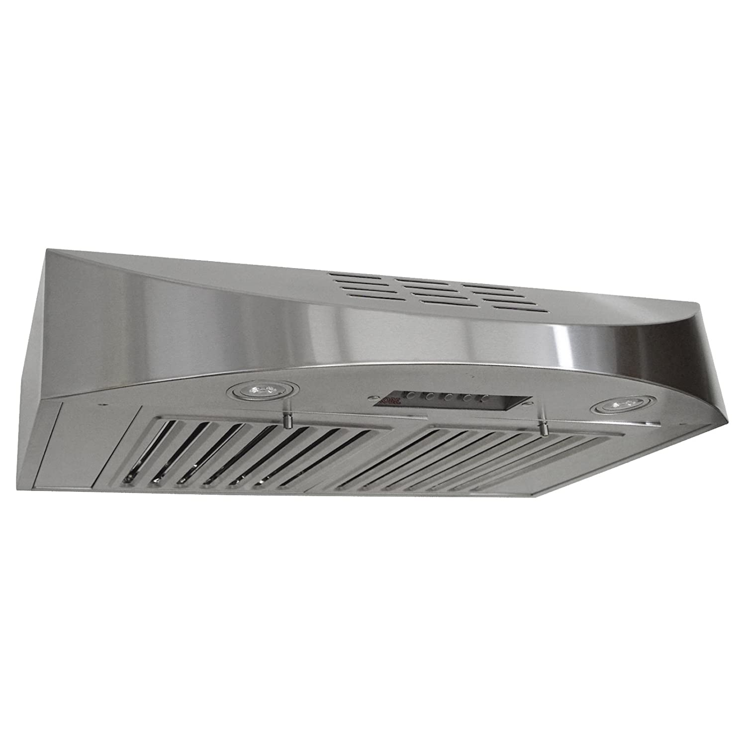 KOBE CHX3836SQBD-3 Brillia 36-inch Ductless Under Cabinet Range Hood, 3-Speed, 400 CFM, LED Lights, Baffle Filters