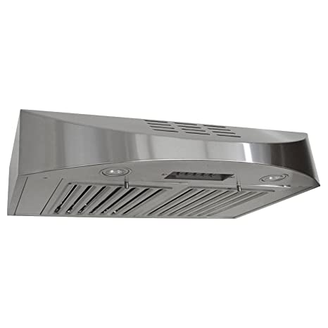 amazon com kobe chx3830sqbd 3 brillia 30 inch ductless under rh amazon com best ductless range hood under cabinet ductless range hood under cabinet black stainless