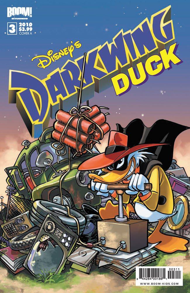 Download Disney's Darkwing Duck #3 Cover A pdf
