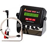 Flame Boss 300-WiFi Kamado Grill and Smoker Temperature Controller - Contains Additional Meat Probe and Y Adapter - Recipe eBook Incl.