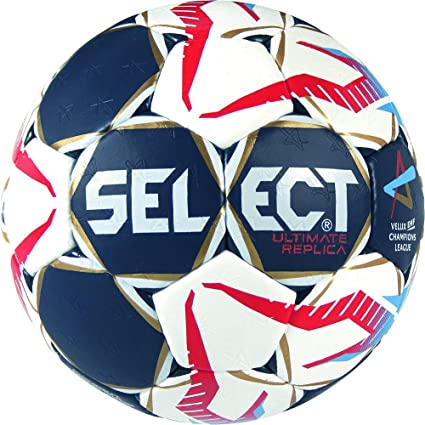 SELECT Ultimate Replica cl de Balonmano, Color Azul/Blanco/Rojo ...