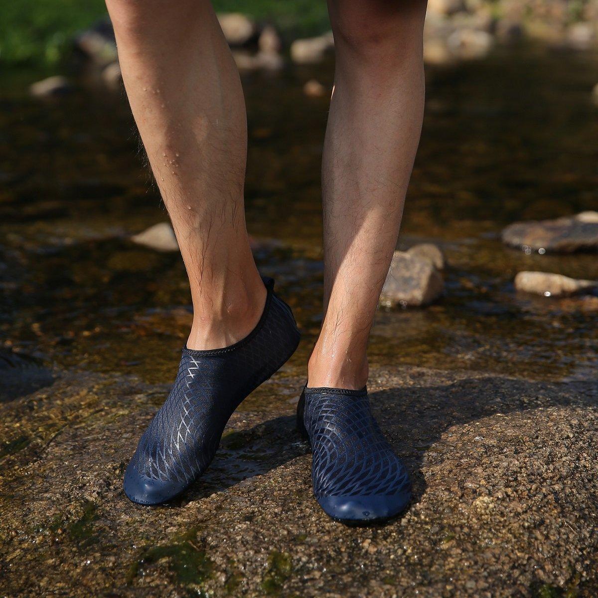 Kyerivs Chaussures Aquatiques pour Homme