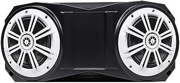 Kicker 6.5 150 Watt Overhead Rollbar Rollcage Speakers For ATV//UTV//Cart 2