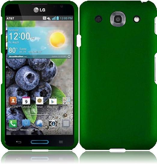 finest selection 1ce5b 2db4d Amazon.com: For LG Optimus G Pro E980 Hard Cover Case Dark Green ...