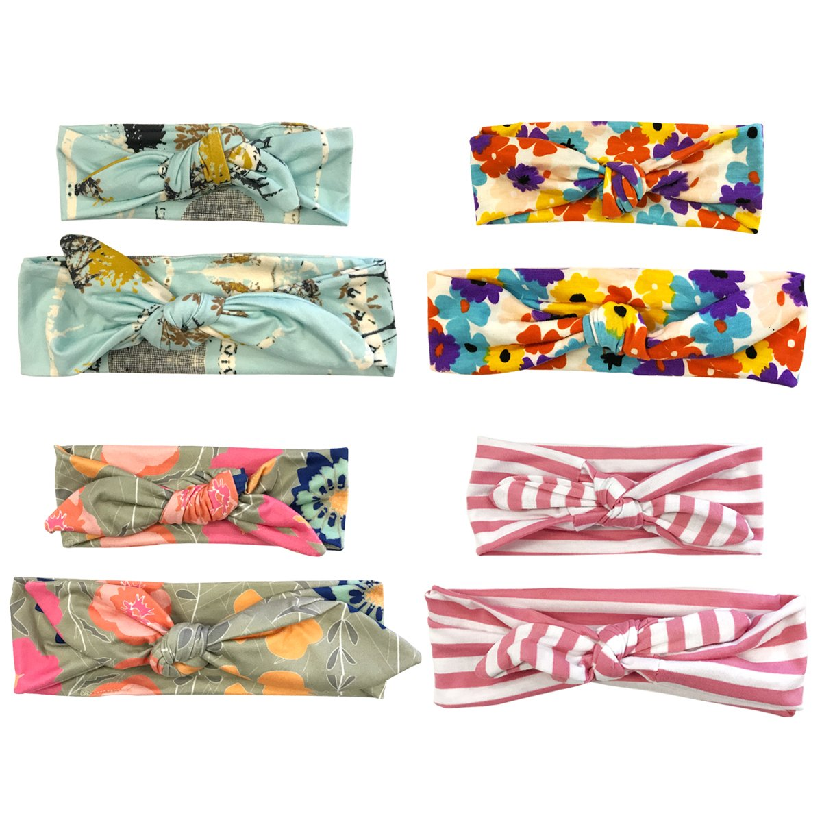 Wrapables Mommy Me Boho Headband Floral