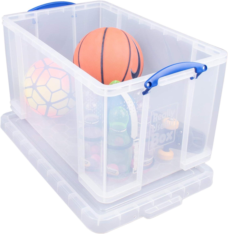 Really Useful Box Aufbewahrungsbox 84 Liter transparent