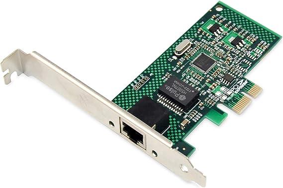 Digitus Io Card Pcie Rj45 Network Card 1 Port Computers Accessories
