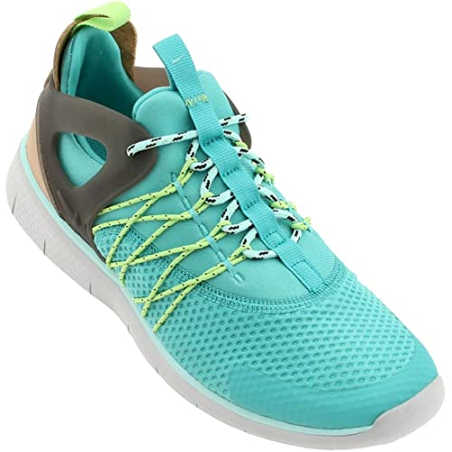 d8540101ae486 NIKE Free Viritous WMNS Running Shoes Green 725060 400: Amazon.co.uk ...