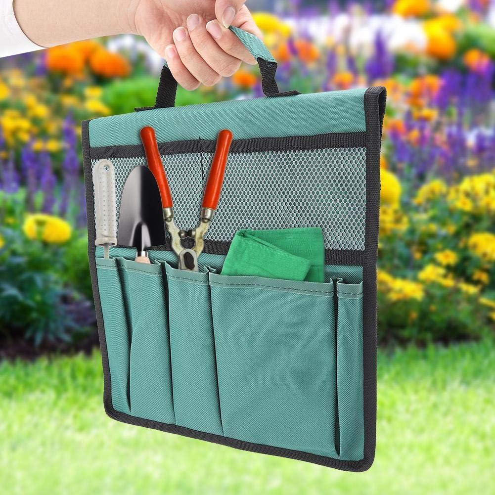 Green idalinya Garden Kneeler Pouch Foldable Portable Kneeler Kneeling Bags Tool Storage Stool Pouches