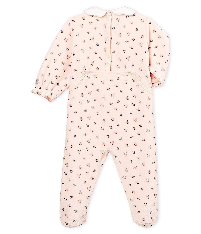 Petit Bateau Baby Girls Lot Balein Sleepsuit