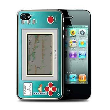 Carcasa/Funda STUFF4 dura para el Apple iPhone 4/4S / serie: Consola de juegos - Donkey kong jr