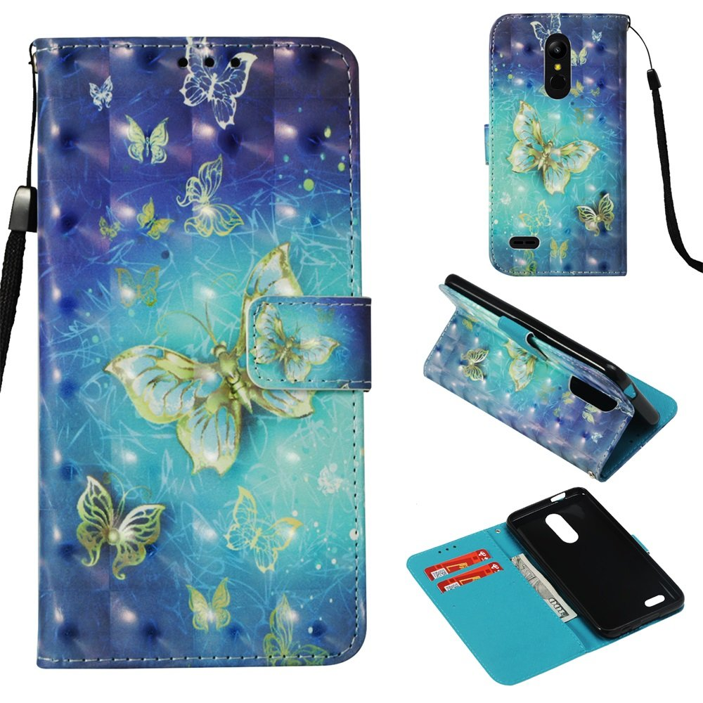 Amazon.com: LG Aristo 2, funda Nicelin 3d pintura patrón PU ...