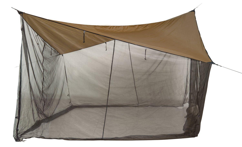 Amazonas Ultra-Light Moskito Tarp mit Moskitonetz 395x395 cm 1.800 g in Grün