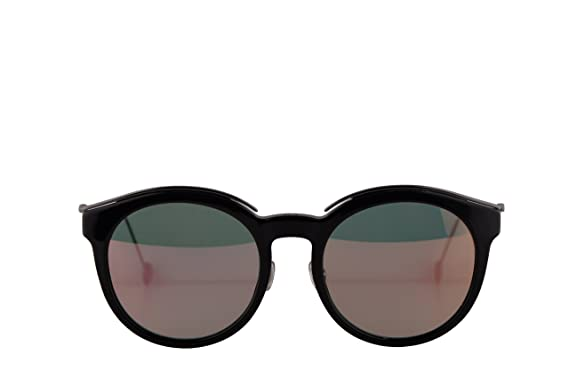 8a3d0528a9a6 Image Unavailable. Image not available for. Color  Christian Dior  DiorBlossom Sunglasses Black Dark Ruthenium w Grey Rose Gold Lens ...