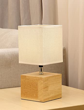 Natural wood base table lamp hompen desk lamp with 5v2a usb natural wood base table lamp hompen desk lamp with 5v2a usb charging port aloadofball Images