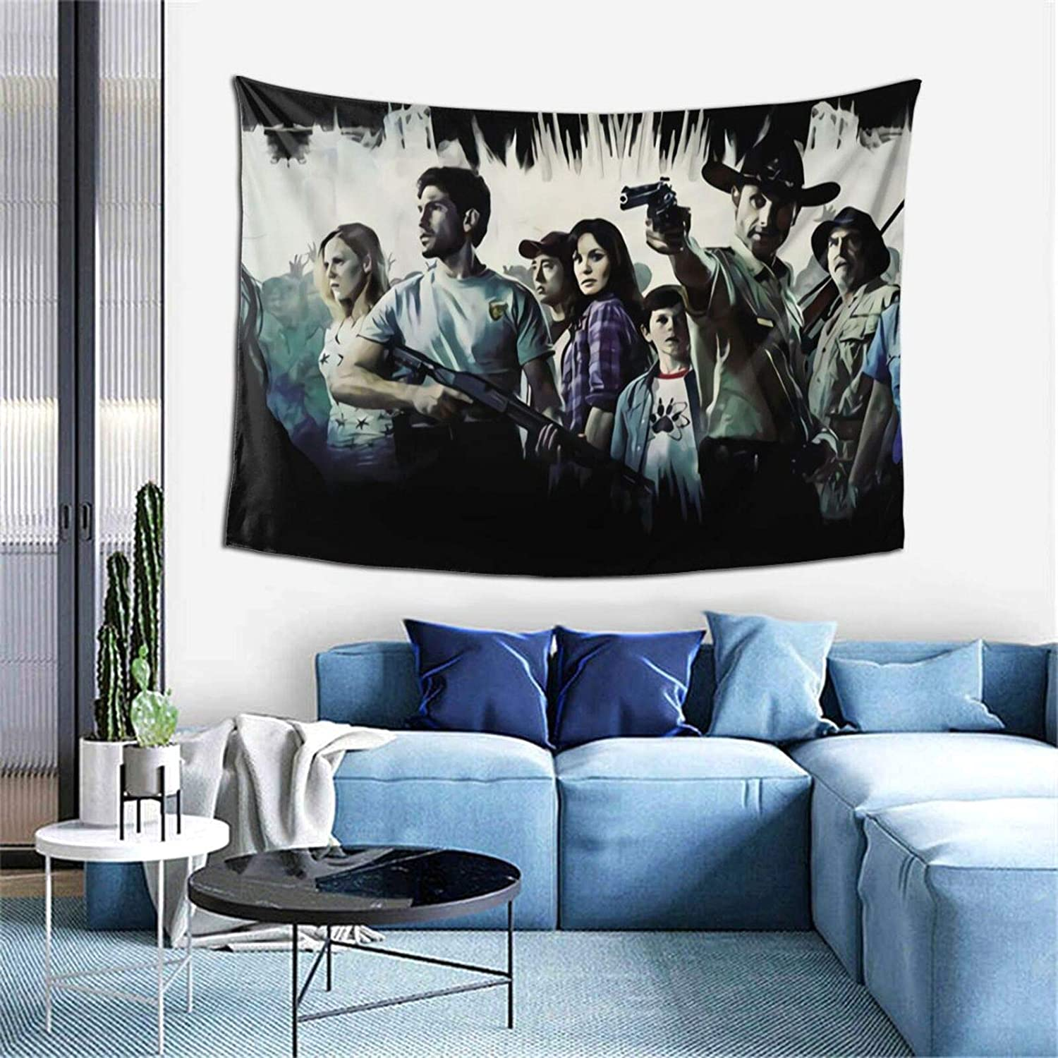 The Walking Dead Merchandise Tapestry Wall Hanging 3d Printing Wall Art Wall Blanket For Living Room Bedroom Home Decor 60x40 In