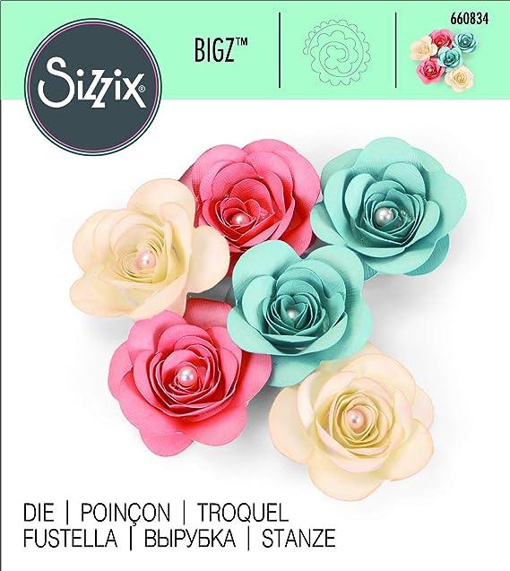 Black Sizzix  Flowers 3-D No.3  Bigz Die