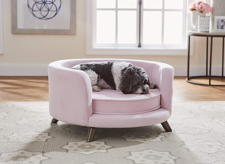 Enchanted Home Pet Rosie Sofa – Blush Pink