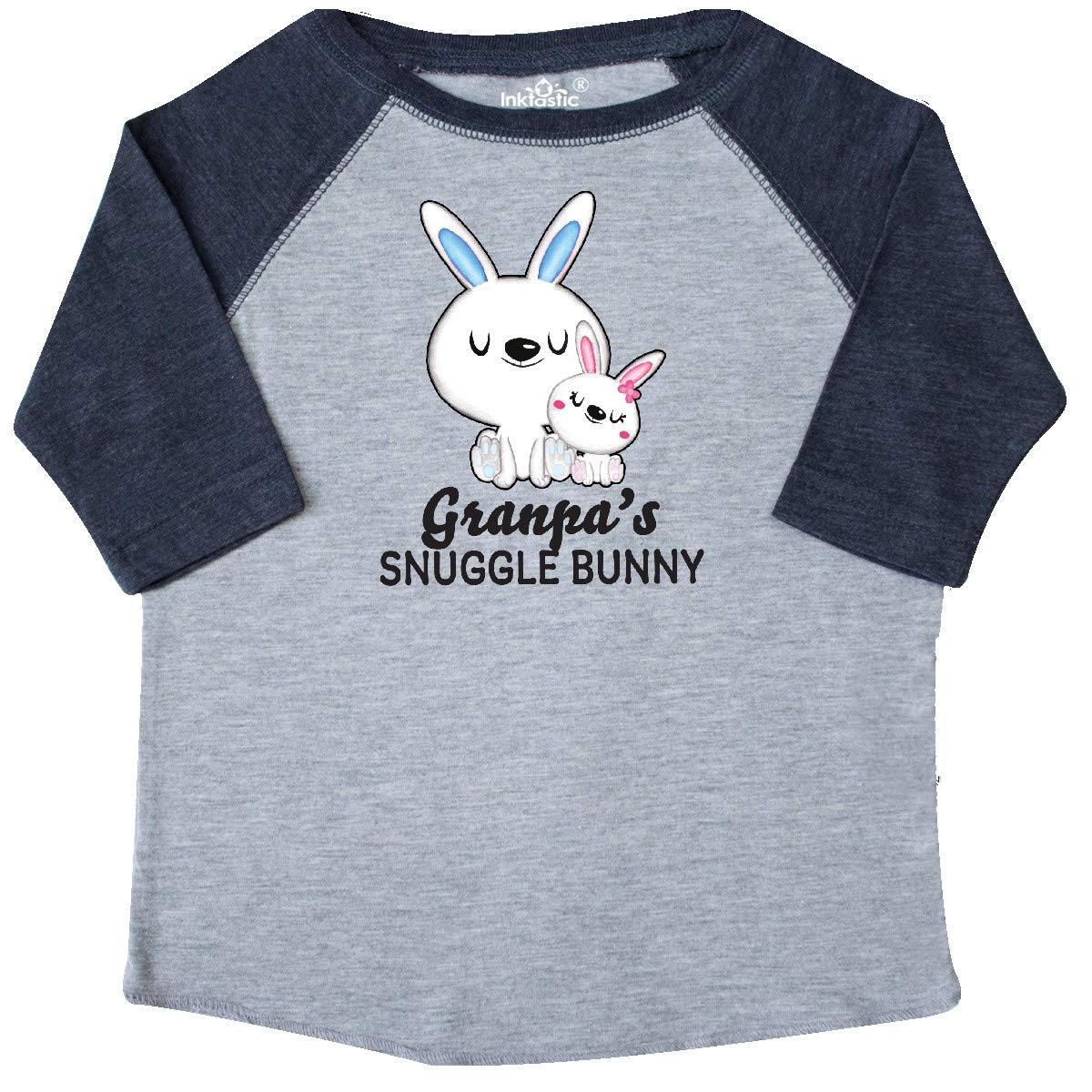 inktastic Granpas Snuggle Bunny Easter Toddler T-Shirt