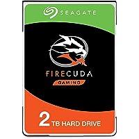 Seagate FireCuda - Disco Duro SATA de 1 TB para Videojuegos (6 GB/s, 8 GB), Embalaje abrefácil (ST1000LXZ15), 2 TB