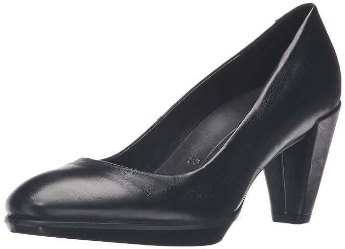 Ecco Shape 55, Escarpins Bout Ouvert Femme, (Black 1001), 40 EU